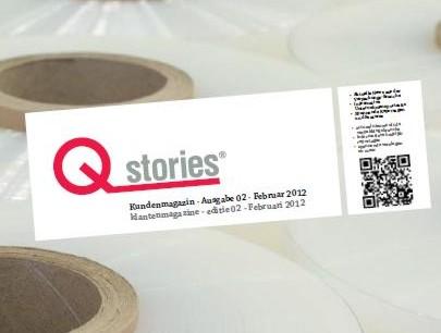Unsere zweite Ausgabe der Qstrories®!