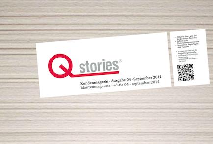 Unsere vierte und neuste Ausgabe der Qstrories®!
